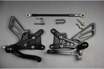 Pedane arretrate regolabili per Honda CBR 600 F F4 FI FS