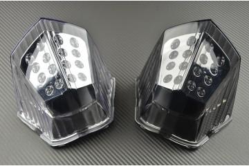 stop LED fumé clignotants intégrés Yamaha FZ6 Fazer S2 2007-2015 Feu arrière