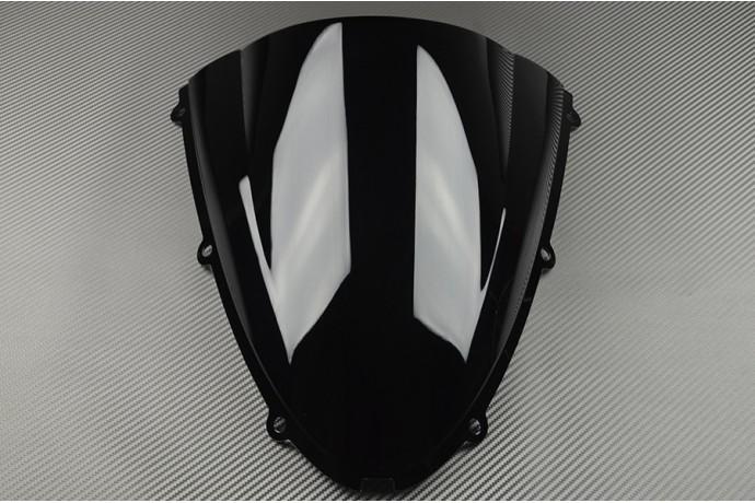 Schwarz Windschutzscheibe Fur Kawasaki ZX10R 2006 2007