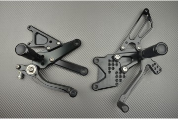 Estriberas retrasadas regulables Suzuki Bandit 600 1200 94 / 05
