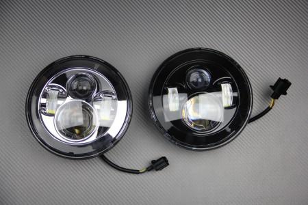 Optique / Phare rond à LED à adapter