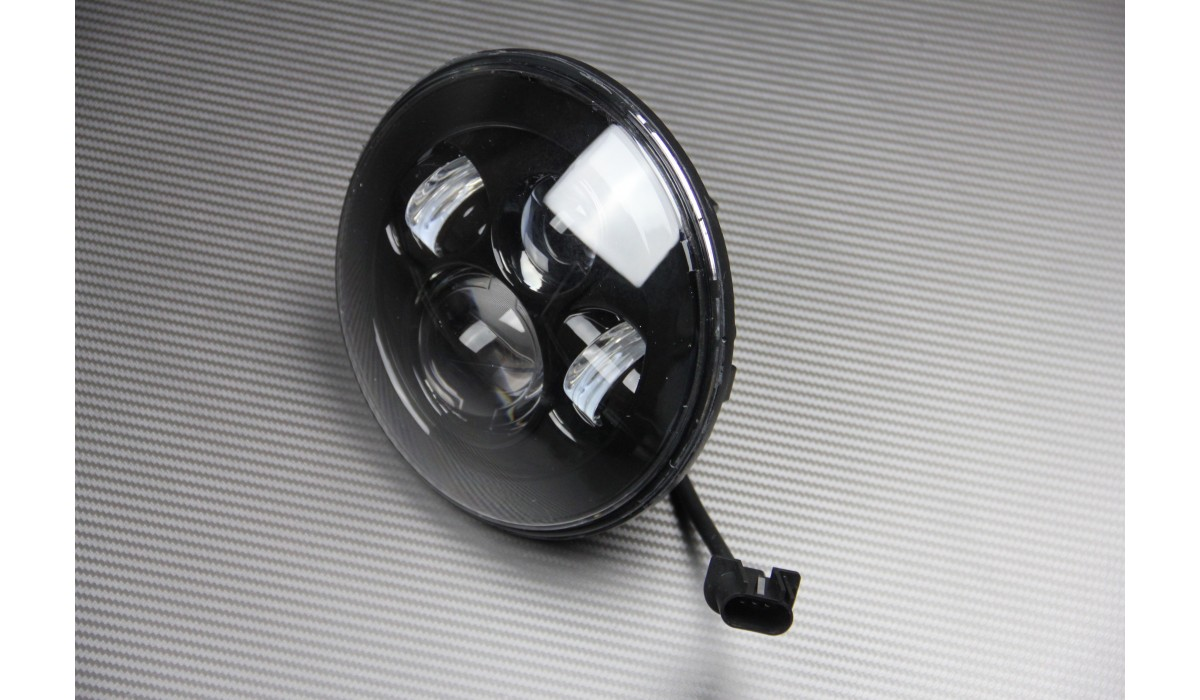 optique phare rond led adapter. Black Bedroom Furniture Sets. Home Design Ideas