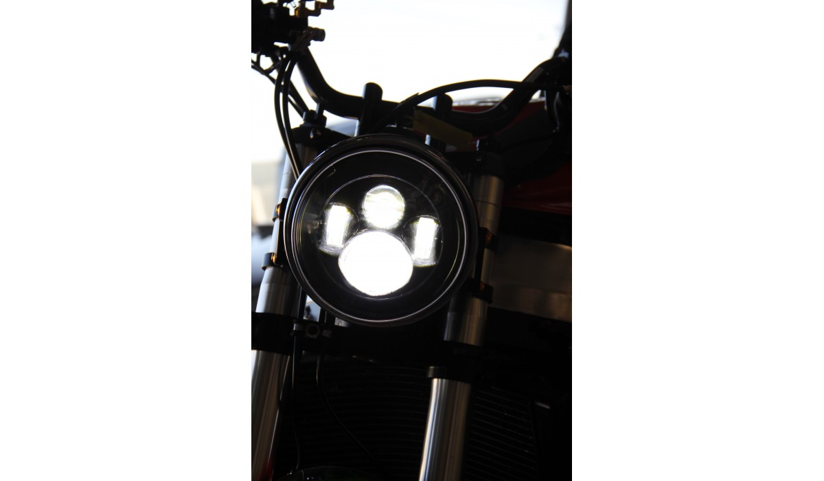 optique phare rond led adapter avdb moto l 39 accessoire prix motard. Black Bedroom Furniture Sets. Home Design Ideas