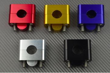 Pair of universal handlebar risers Universal 28 mm
