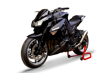 Slip-on exhaust HP CORSE KAWASAKI Z1000 / SX 2010 / 2017