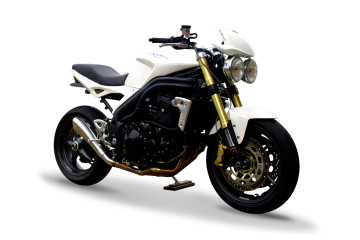 Slip On Auspuffanlage HP CORSE TRIUMPH SPEED TRIPLE 1050 2004 - 2006