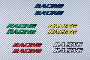 Aufkleber Sticker RACING