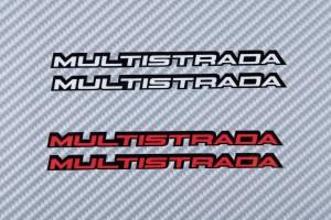 Aufkleber Sticker MULTISTRADA