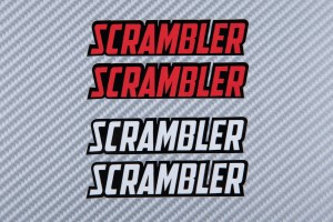Stickers SCRAMBLER