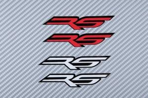 Aufkleber Sticker RS