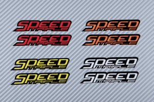 Stickers SPEED TRIPLE