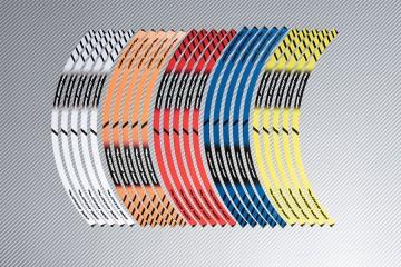 Strisce nastro adesivo racing per cerchio ruota HONDA