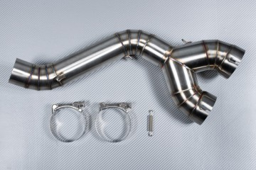 Y Mid Pipe link with Decat BMW S1000RR 2010 - 2014