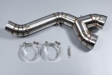 Y Mid Pipe link with Decat BMW