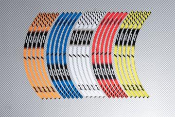 Strisce nastro adesivo racing per cerchio ruota HONDA HORNET
