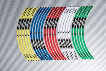 Strisce nastro adesivo racing per cerchio ruota KAWASAKI ZZR