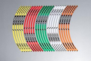 Strisce nastro adesivo racing per cerchio ruota KAWASAKI Z750