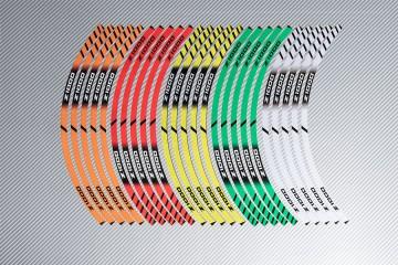 Strisce nastro adesivo racing per cerchio ruota KAWASAKI Z1000