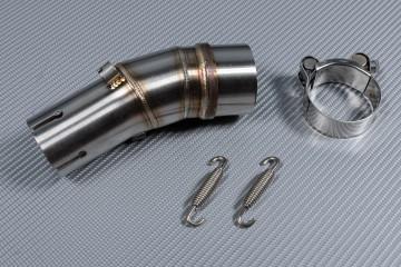Tube intermédiaire / Mid Pipe pour échappement KAWASAKI ER6 N & F 2006 - 2011