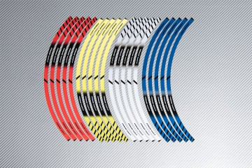 Strisce nastro adesivo racing per cerchio ruota HONDA CBR 650