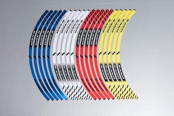 Strisce nastro adesivo racing per cerchio ruota SUZUKI GSXS