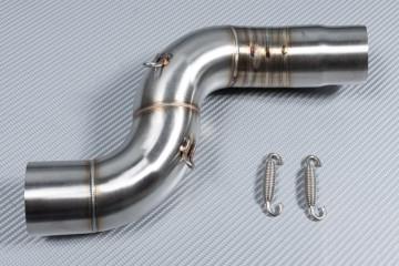 Tube intermédiaire / Mid Pipe pour échappement KAWASAKI ZX6R 636 2005 - 2006