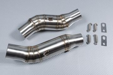 Tube intermédiaire / Mid Pipe pour échappement KAWASAKI Z1000 / Z1000R 2014 - 2020