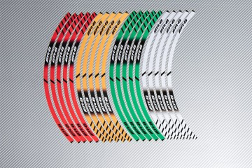 Strisce nastro adesivo racing per cerchio ruota KAWASAKI ER6