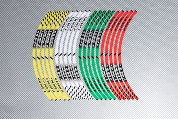 Strisce nastro adesivo racing per cerchio ruota KAWASAKI Z800