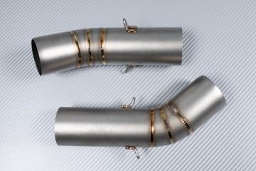 Tube intermédiaire / Mid Pipe pour échappement DUCATI SBK 848 & 1098 & 1198 / EVO / SP / S / R 2007 - 2012