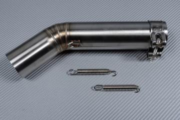 Raccordo / Mid Pipe con decatalizzatore specifico SUZUKI GSXR 600 - 750 2006 - 2007