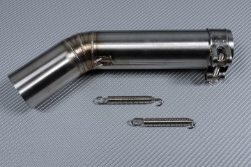Tube intermédiaire / Mid Pipe décatalyseur pour échappement SUZUKI GSXR 600 - 750 2006 - 2007