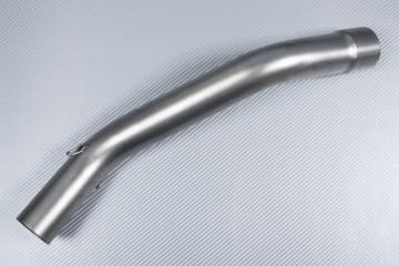Tube intermédiaire / Mid Pipe décatalyseur pour échappement KAWASAKI ZX10R 2011 - 2020