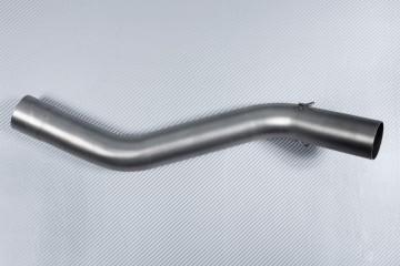 Tube intermédiaire / Mid Pipe décatalyseur pour échappement KAWASAKI ZX6R 2009 - 2012