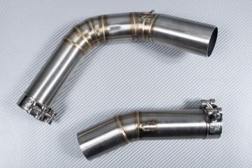 Tube intermédiaire / Mid Pipe pour échappement YAMAHA YZF R1 CROSSPLANE 2009 - 2014