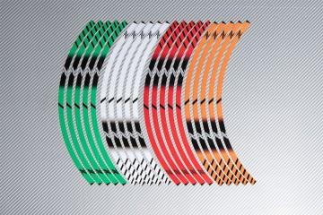Strisce nastro adesivo racing per cerchio ruota KAWASAKI Z