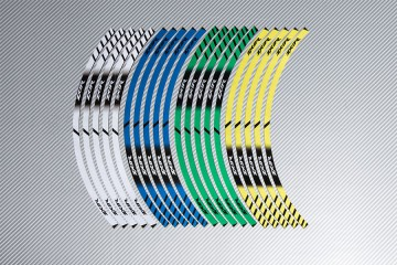 Strisce nastro adesivo racing per cerchio ruota KAWASAKI ZX9R