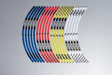 Stickers de llantas Racing YAMAHA - Modelo R6