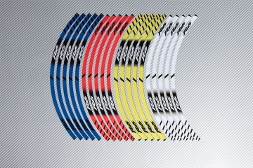 Strisce nastro adesivo racing per cerchio ruota YAMAHA - Modello R6