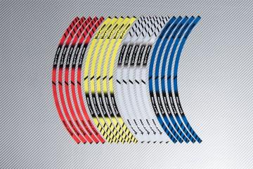 Stickers de llantas Racing YAMAHA - Modelo MT09