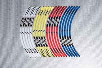 Stickers de llantas Racing YAMAHA - Modelo R1