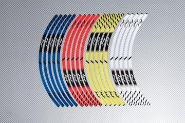Stickers de llantas Racing YAMAHA - Modelo FZ1