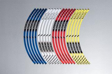 Strisce nastro adesivo racing per cerchio ruota YAMAHA - Modello MT07