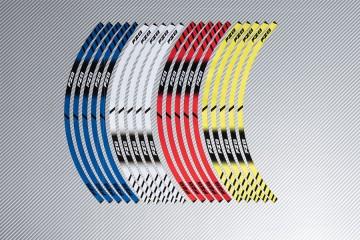 Stickers de llantas Racing YAMAHA - Modelo FZ8