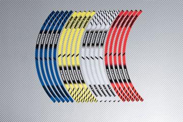 Strisce nastro adesivo racing per cerchio ruota YAMAHA - Modello TRACER