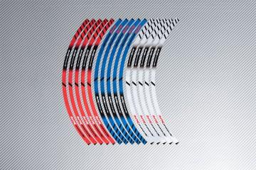 Strisce nastro adesivo racing per cerchio ruota BMW - Modello S1000XR