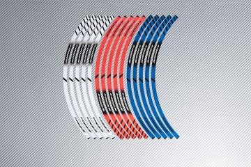 Strisce nastro adesivo racing per cerchio ruota BMW - Modello S1000R