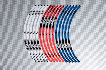 Strisce nastro adesivo racing per cerchio ruota BMW - Modello GS