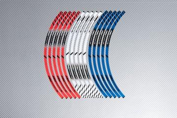 Strisce nastro adesivo racing per cerchio ruota BMW - Modello S1000RR