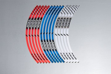 Strisce nastro adesivo racing per cerchio ruota SUZUKI - Modello GSX